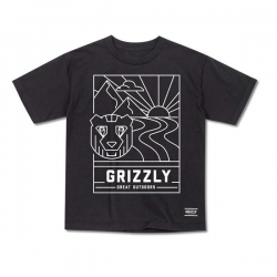 GRZ YT TEE LINESCAPE BLK M - Click for more info