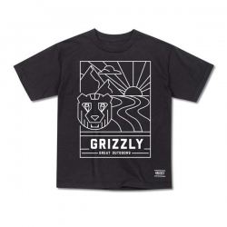 GRZ YT TEE LINESCAPE BLK L - Click for more info
