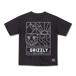 GRZ YT TEE LINESCAPE BLK XL - Click for more info