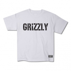 GRZ YT TEE HEADLINES WHT YL - Click for more info