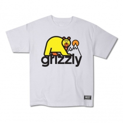 GRZ YT TEE MOUNT FUJI WHT YS - Click for more info