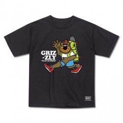 GRZ YT TEE MILE HIGH BLK YM - Click for more info