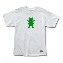 GRZ TEE OG BEAR BASIC WT/GR XL - Click for more info