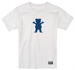 GRZ TEE OG BEAR WHT/NVY L - Click for more info
