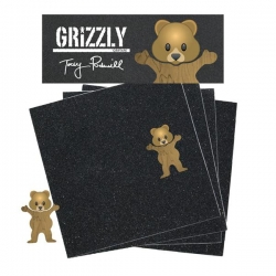 GRZ GRIP TPUDS BEAR BRWN SQUAR - Click for more info