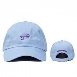 JHF CAP CLSC SKATE DAD BLU/WHT - Click for more info