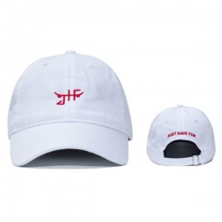 JHF CAP CLSC SKATE DAD WHT/RED - Click for more info