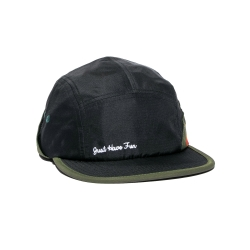 JHF CAP HAPPY CAMPER 5P GRN/RD - Click for more info