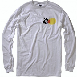 MGNTA LS TEE PANEL WHT S - Click for more info