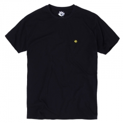 MGNTA TEE BRODE BLK L - Click for more info
