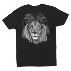 HPS TEE LION BLK XL - Click for more info