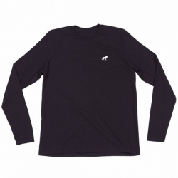 HPS L/S TEE LION EMB HTHR XL - Click for more info