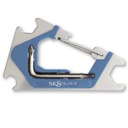 SK8OLOGY SKATE TOOL BLU/SLV - Click for more info