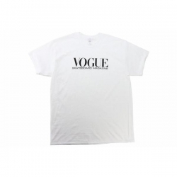 DEAR TEE VOGUE WHT L - Click for more info