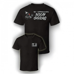 DSC TEE WE APPRECIATE BLK S - Click for more info
