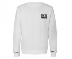 DSC SWT CRW SNAKE SHAKE WHT XL - Click for more info