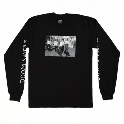 DSC LS TEE THE APPROACH BLK M - Click for more info