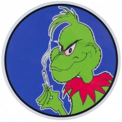 PRIME STKR GRINCH PUSHER 5PK - Click for more info