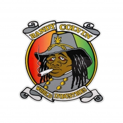 PRIME STKR RASTA REBEL 5PK - Click for more info