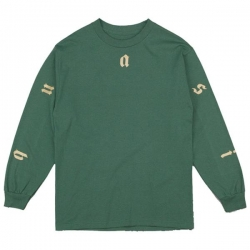 QSI LS TEE COAST 2 COAST GRN L - Click for more info