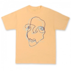 QSI TEE FACE MANGO L - Click for more info