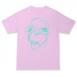 QSI TEE FACE PINK XL - Click for more info