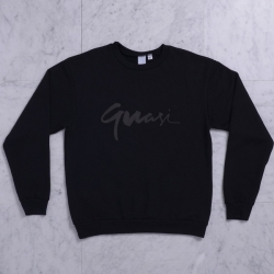 QSI SWT CREW CENTURY BLK L - Click for more info