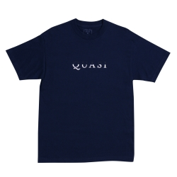 QSI TEE WORDMARK NVY XL - Click for more info