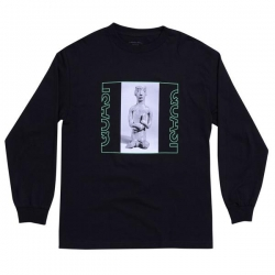 QSI LS TEE RELIC BLK M - Click for more info