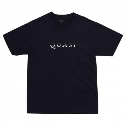 QSI TEE WORDMARK BLK M - Click for more info