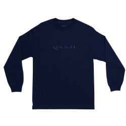 QSI LS TEE WORDMARK NVY XL - Click for more info
