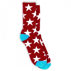 TRD SOCK STAR RED - Click for more info