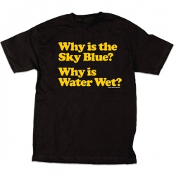 SKM TEE BLUE WATER WET BLK L - Click for more info