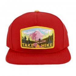 SKM CAP ADJ TAKE A HIKE RED - Click for more info