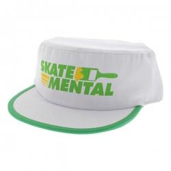 SKM CAP ADJ PAINTERS WHT - Click for more info