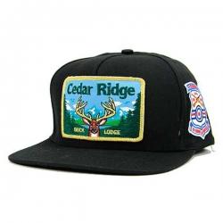 SKM CAP ADJ CEDAR RIDGE BLK - Click for more info