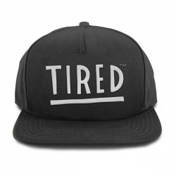 TRD CAP ADJ TIRED LOGO BLK - Click for more info