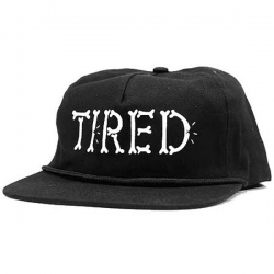 TRD CAP ADJ BONES BLK - Click for more info