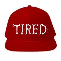 TRD CAP ADJ BONES RED - Click for more info