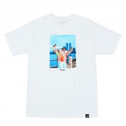 PRM TEE TWIN TWRS BIGGIE WHT L - Click for more info