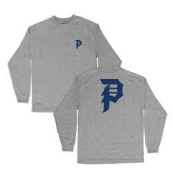 PRM LS TEE DIRTY P HTHR XL - Click for more info