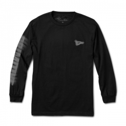 PRM LS TEE VISION TEST BLK S - Click for more info