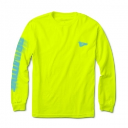 PRM LS TEE VISION TEST LIME S - Click for more info