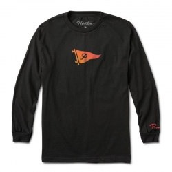 PRM LS TEE TONE PENNANT BK M - Click for more info