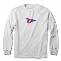 PRM LS TEE TONE PENNANT WT XL - Click for more info