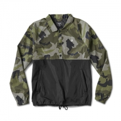 PRM JKT ANORAK COACH CAMO M - Click for more info