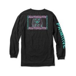 PRM LS TEE PHARAOH BLK M - Click for more info
