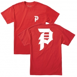 PRM TEE DIRTY P RED L - Click for more info