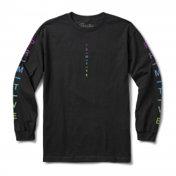 PRM LS TEE MOODS GRD BLK XL - Click for more info