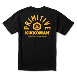 PRM TEE KIKKOMAN SOY BLK L - Click for more info